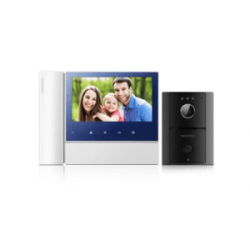 "Commax Video Intercom: 7"" Video Phone And Camera Kit"