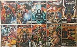 Justice League 41-50 Nm Lot 2016 'darkseid War' Dc Comics