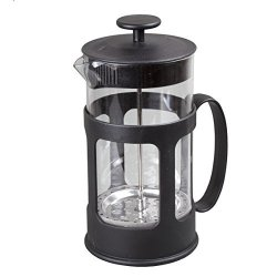 "Creative Home 8 Cup French Press Coffee Plunger Tea Maker 45007 Iron Chromed 1000 Ml 34 Oz 4.3"" X 6"" X 8.3"" Clear"