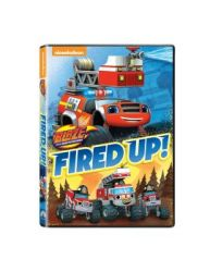 Blaze And The Monster Machines: Fired Up DVD