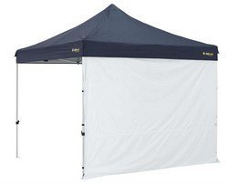 OZtrail Gazebo Deluxe Solid Wall Kit 3m in White