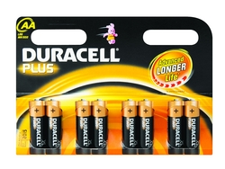 Duracell Plus Power Aa Batteries - 8 Pack