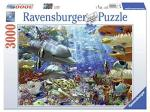 Ravensburger Oceanic Wonders 3000 Piece Jigsaw Puzzle For Adults Softclick Technology Means Pieces Fit Together Perfectly