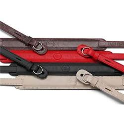 Leica Leather Neck Strap For Tl t Mirrorless Digital Cameras Red