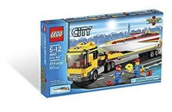 LEGO CITY Power Boat Transporter 4643