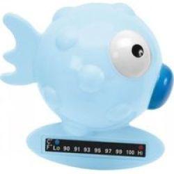 Chicco Bath Thermometer Globe Fish Blue