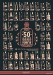 GinSanity 50 Gins Before You Turn 50 A3 Poster