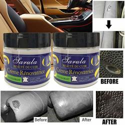 EDTO Leather Repair Cream Leather Repair Filler Compound kit for car Seats Leather Restoration Cracks Burns /& Holes