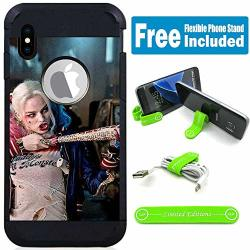 For Apple Iphone Xr Defender Rugged Hard Cover Case - Harley Quinn Real Chu
