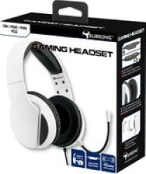 HS300 Over-ear Gaming Headset With Microphone For PS5 White - Parallel Import