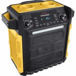 Ion Audio Pathfinder Water-resistant Rechargeable Speaker System Yellow - Renewed