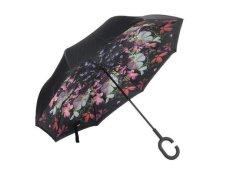 Reversible Umbrella With Design - Flower Burst
