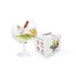 Gin Tribe Secco 8 Pack - Mixed Drink Infusion - Includes 8 Packets Of : Ginger Lime