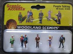 USA Scenic Accents People Talking Ho Scale A1838