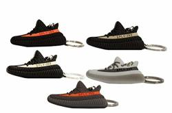 new style dac3c 2fbb1 Just My Kicks JMK Yeezy Boost 350 V2 Fashion Key Chains 2D Exclusive  VCABS68 Version - Black red Breds Black white Oreo Gray orange Beluga Black  grey ...