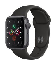 Pre Owned Apple Watch Series 5 40mm GPS Only Space Grey Aluminium Case