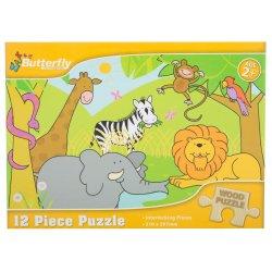Puzzle A4 12 Piece 4 Designs