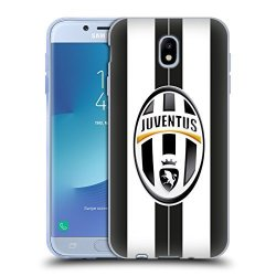 Head Case Designs Official Juventus Football Club Home Match 2016 17 Kit Soft Gel Case For Samsung Galaxy J7 2017 Pro
