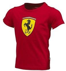 Ferrari Kids Red Shield Tee Shirt 1-2 Years