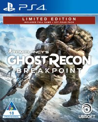 Ghost Recon Breakpoint Limited Edition PS4