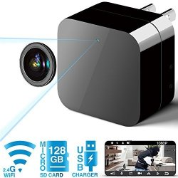 Phreilend Hidden Camera - Spy Camera - Wifi Camera HD 1080P Remote View  With App - Can Charge Phones - Home Security Camera Moti | R1159 00 | Video