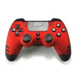 Steelplay Metaltech Wireless Controller For PS4 Red