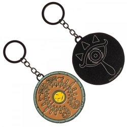 Zelda Legend Of Breath Of The Wild Shield Keychain