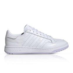Adidas Originals Women's Team Court White Sneaker