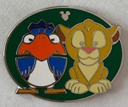 Disney Pin 134113 Dlr - Hidden Mickey 2019 - Duos - Simba & Zazu Pin Lion King