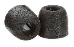 Comply Foam Premium Earphone Tips - Isolation T-400 Black 3 Pairs Medium