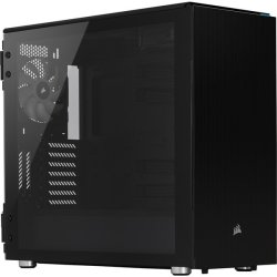 Corsair Carbide Series 678C Low Noise Tempered Glass Atx Computer Chassis - Black