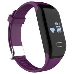 MBHB Kids Heart Rate Monitor Smart Bracelet Oled Touch Screen Passometer Fitness Tracker For Androi