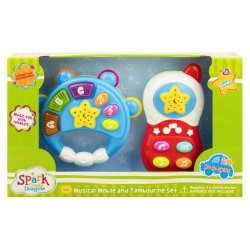 SPARK CREATE - Musical Mobile And Hand Ring Set
