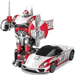 USA Aiojy One-click Remote Control Deformed Car Transformed Into A Transformers Toy Car Charging Hornet Car Robot Genuine Boy Toy Car Autobots Christmas B