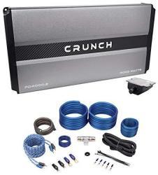Crunch PD4000.2 4000W 2-CHANNEL Pro Power Car Audio Amplifier Class Ab+amp Kit