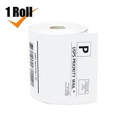 "Healingtime 1 Roll Premium Dymo Label 1744907 Compatible 4""X6"" - 220 Labels roll Label Writer 4XL"