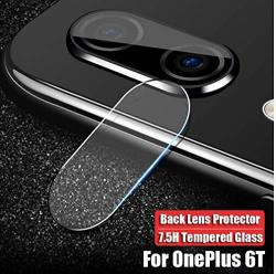 Constantly Back Camera Lens Tempered Glass For Oneplus 6T Protector Protective FILM-2 Packs-high Transparency