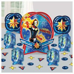 Captain Marvel Table Centerpiece Kit