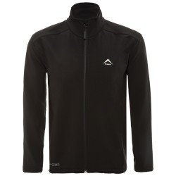 K-Way Men's Felixx Softshell Jacket - Black