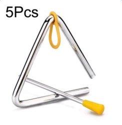 "Freedi 5PCS Musical Instruments Triangle 4""ANGLE Iron Preschool Music Triangle"