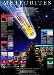 "American Educational Meteorite Poster 38"" Length X 26"" Width"