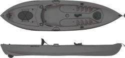 SEAFLO SF-1007 Fishing Kayak in Grey