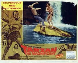 Pop Culture Graphics Tarzan The Magnificent Poster Movie 1960 Style A 11 X 14 Inches - 28CM X 36CM Gordon Scott Jock Mahoney Betta St. John John Carradine Lionel Jeffries