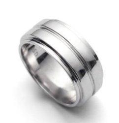Libaraba Tm Silver Plated Supernatural Dean's Ring 12.5