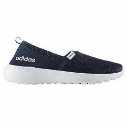 533acea9818d Adidas NEO Women s Lite Racer Slip On W Casual Sneaker 7.5 B M Navy ...