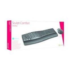 Microsoft Sculpt Comfort Desktop Bundle