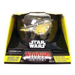 Hasbro Titanium Series Star Wars Ultra Vehicles Jedi Starfighter