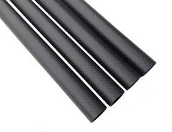 USA Abester Roll Carbon Fiber Tube Id 18MM X Od 20MM X 1000MM 3K Matt Surface