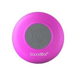 SoundBot SB510 HD Water Proof Bluetooth 3.0 Speaker MINI Water Resistant Wireless Shower Speaker Handsfree Portable Speakerphone With Built-in MIC
