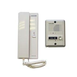 Kocom 220VAC 1-1 Audio Intercom Kit